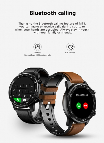 kuwfi Smart Watch Men Call Play Music Smart watch Android Heart Rate Monitoring Camera Control Sports Smart Watch