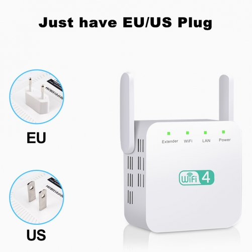 KuWfi Wireless Wifi Repeater WiFi Extender 2.4G 5G AP Router Wi Fi Amplifier 5ghz Signal Repeater Wi-Fi Access Point