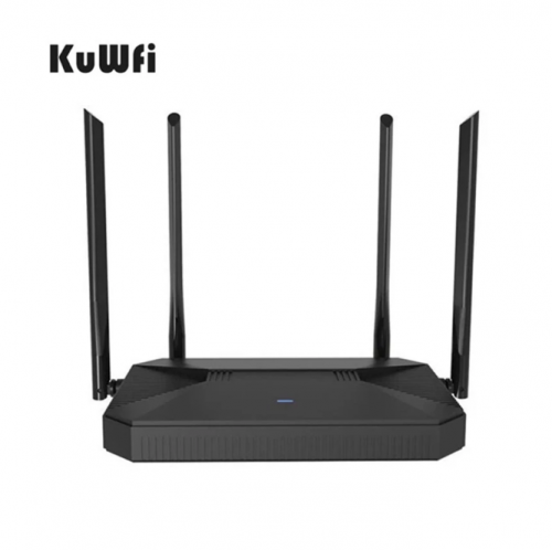 KuWFi NEW 4G Router CAT4 150Mbps Indoor Home Wireless CPE 4G Router Unlocked 3G/4G SIM Wifi Router Support 30 Users&RJ45 Port